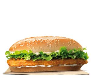 Burger King Argentina Menu