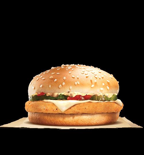 Jalapeno Cheese Chicken Burger | BURGER KING®