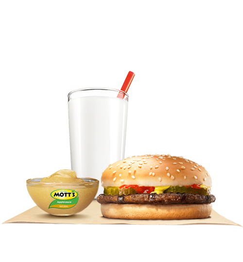 Hamburger King JrTM Meal