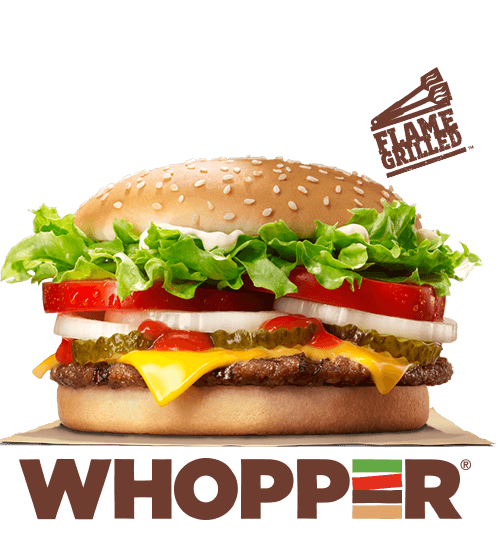 Our WHOPPERR Sandwich Is A 1 4 Lb Of Savory Flame Grilled Beef Topped With Cheese Juicy Tomatoes Fresh Lettuce Creamy Mayonnaise Ketchup Crunchy Pickles