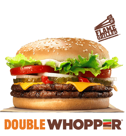 Double WHOPPERR With Cheese