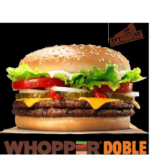 calorias burger king whopper