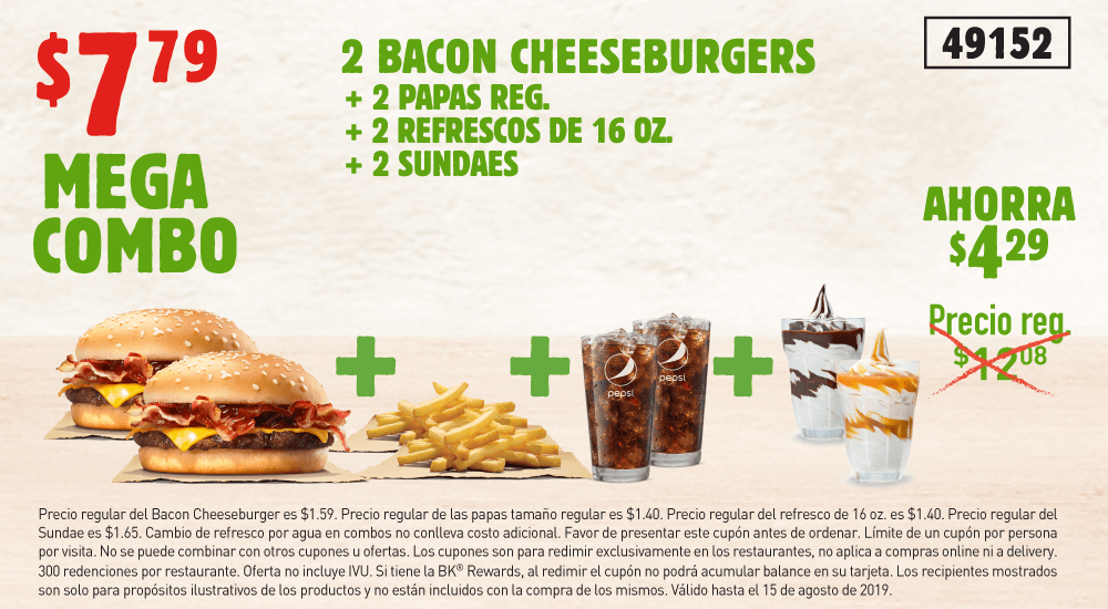 Burger King Puerto Rico Get Fresh Offers 2 For 5